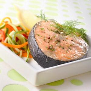 darnes de saumon à l'aneth