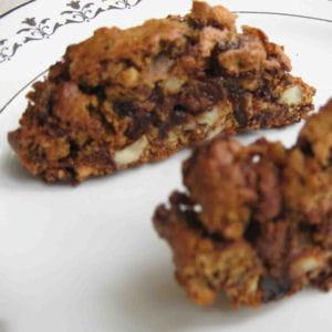 biscotti aux deux chocolats