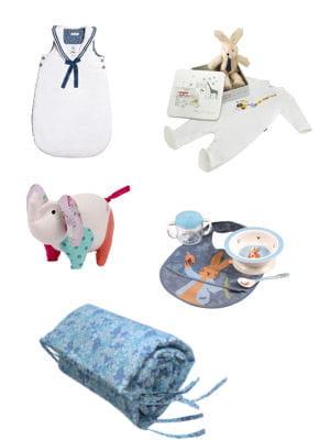 20 idées de cadeaux de naissance.