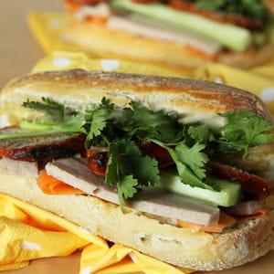 banh mi sandwich vietnamien