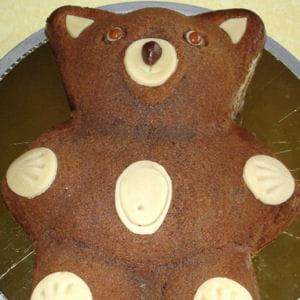 ourson au chocolat