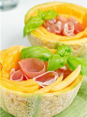 melon et jambon de parme : le duo parfait !