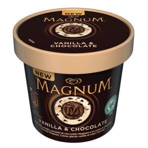 crème glacée vanille coeur chocolat