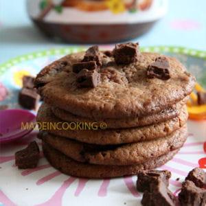 cookies au nutella® et aux pépites de nutella®