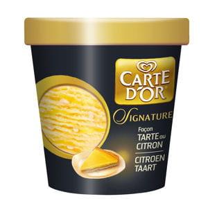glace tarte au citron
