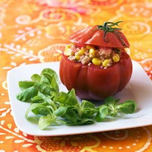 tomates farcies au taboulé de quinoa