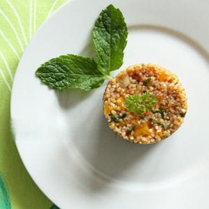 taboulé de boulghour à la tomate