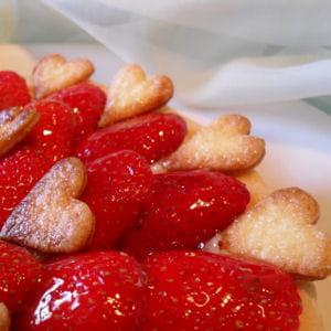 tarte crousti aux fraises