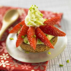 tartelette croquante aux fraises