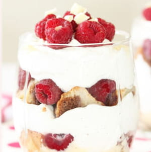 trifle framboise et chantilly