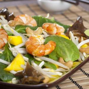 salade asiatique relevée au tabasco