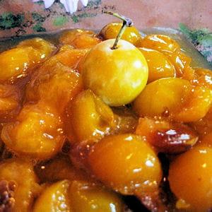 Compote de mirabelles 40 recettes avec des mirabelles journal des femmes - Recette avec des mirabelles ...