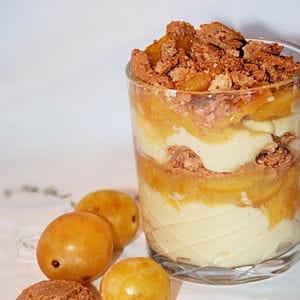 Trifle aux mirabelles 40 recettes avec des mirabelles journal des femmes - Recette avec des mirabelles ...