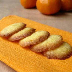 palets de dame à la mandarine