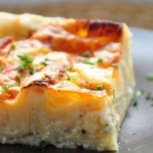 lasagnes blanches aux 3 fromages