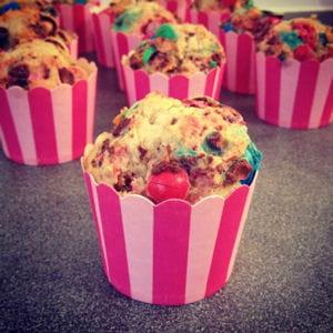 muffins m&m's® et coco