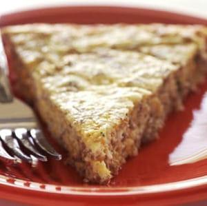tarte à l'oignon et aux épices