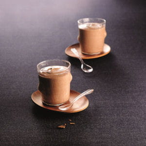 sabayon au chocolat