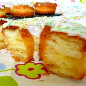 le cronut, moitié croissant moitié donut