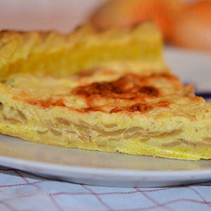 tarte à l'oignon au curry