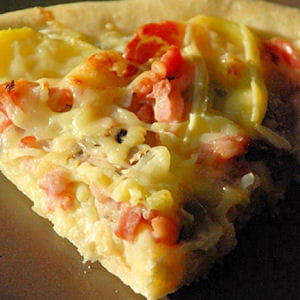 pizza façon savoyarde