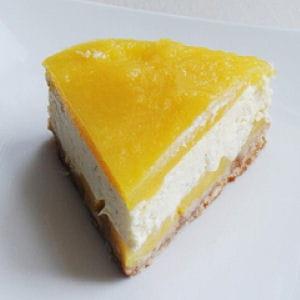 cheesecake crémeux mangue citron vert
