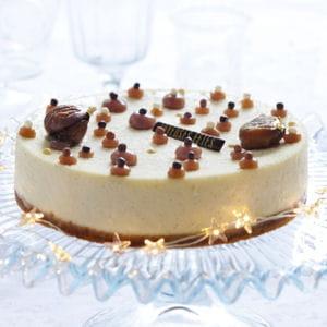 cheesecake vanille-marrons glacés