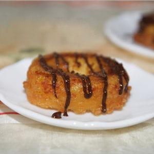 beignets à la crème patissière