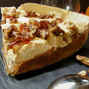 pumpkin pie aux noix de pécan caramélisées
