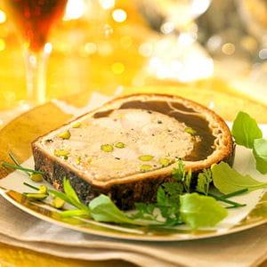 pâté en croûte de foie gras