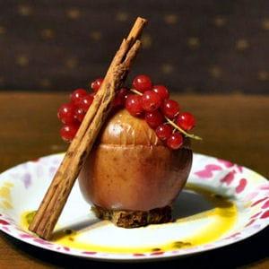 pomme passion sur pain d'épice