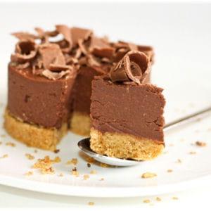 cheesecake chocolat et ricotta sans cuisson