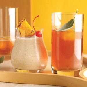 cocktail orange et colada
