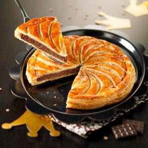 galette frangipane au chocolat