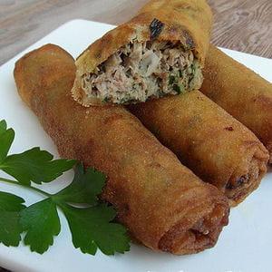 Cigares au thon et coriandre 25 recettes pour cuisiner - Cuisiner du thon en boite ...