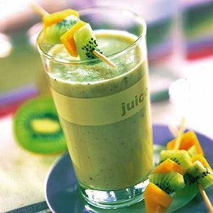 smoothie de kiwi aux bananes
