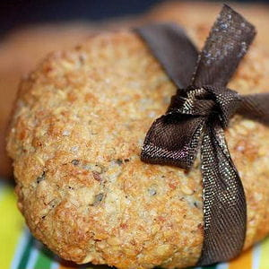 petits biscuits aux flocons d'avoine