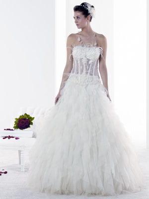 robe de mariée mademoiselle plume de pronuptia