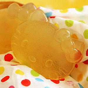 bonbons (jello) au jus de pomme