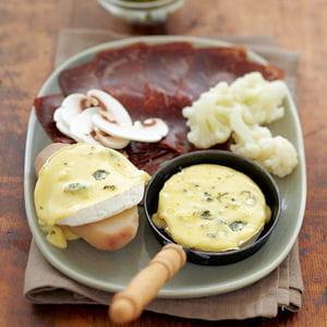 raclette bressane au bresse bleu