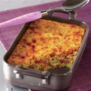 gratin d'hiver quinoa gourmand tipiak®, endives et jambon cru