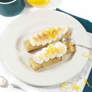 crêpe citron meringuée
