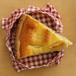 tarte aux pommes normande
