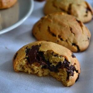 cookies pépites de chocolat et beurre de cacahuètes