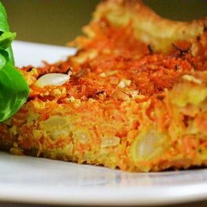tarte à la carotte et aux épices