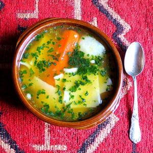 cazuela de pantrucas (cassoulet ou soupe chilienne)