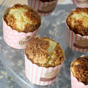 muffins coco praliné