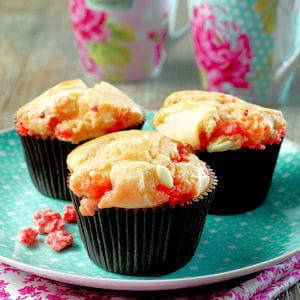 muffins vanille aux pralines