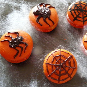 macarons d'halloween