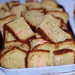 cake au pesto et saumon